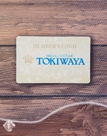 TOKIWAYA MEMBER'S CARD