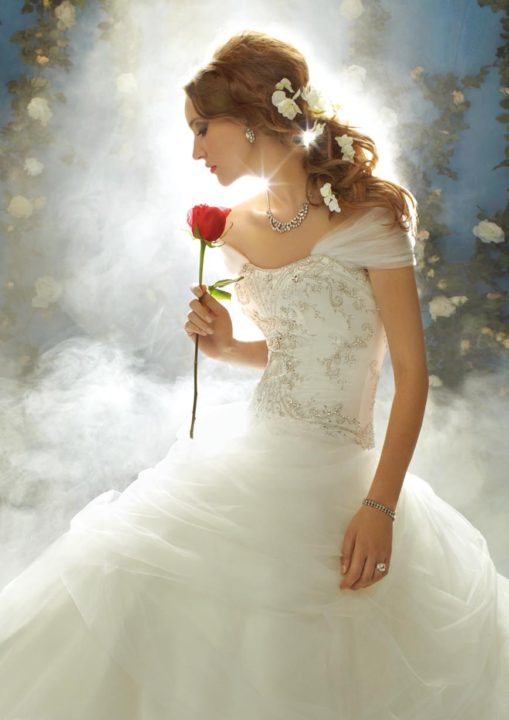 No.8736 Disney's FAIRY TALE WEDDINGS by alfred angelo