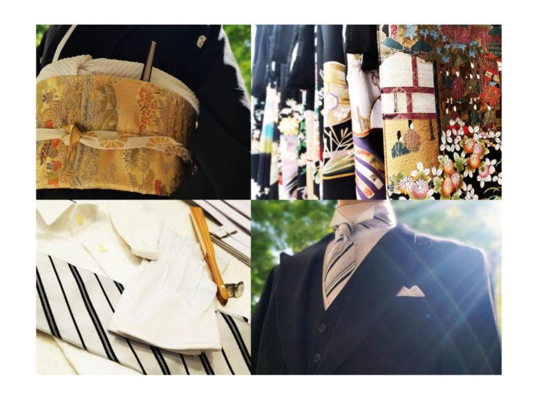 挙式日1ヶ月前は、留袖・モーニングなど親族レンタル衣装も決定時期です。