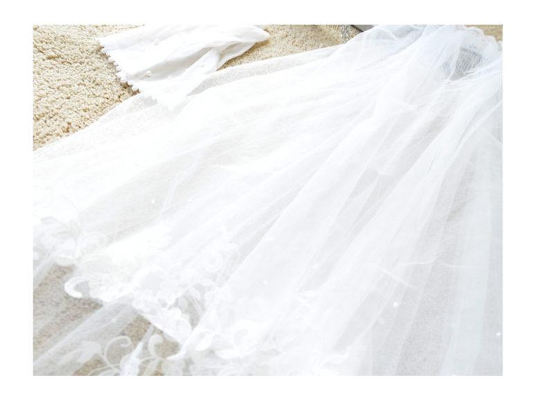 《ブライダル》おススメ♪ ドレス装飾ご紹介 ~ショートベール~