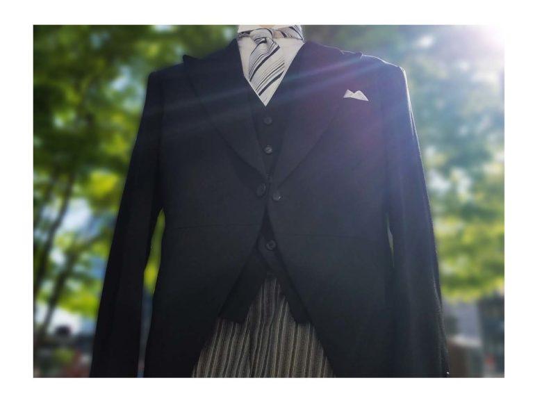 《親族衣装》結婚式でのお父様衣裳モーニングを紹介します