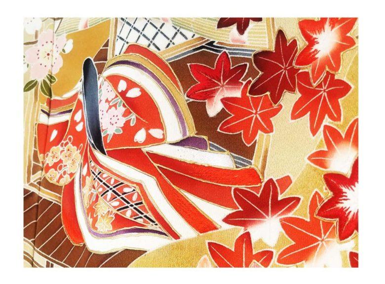 《色打掛》紅葉など秋のロケーションに合う和装~No.7544~