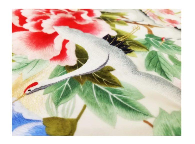 ブライダル 花嫁衣裳【和装】貸衣装コレクションに白地の色打掛を追加しました♪