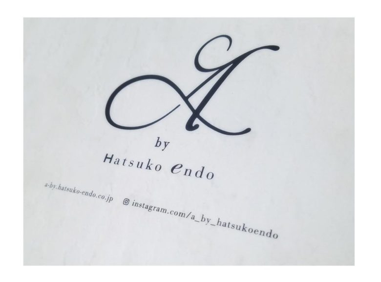 《 A by Hatsuko Endo》 2020年度新作ドレス紹介します♪