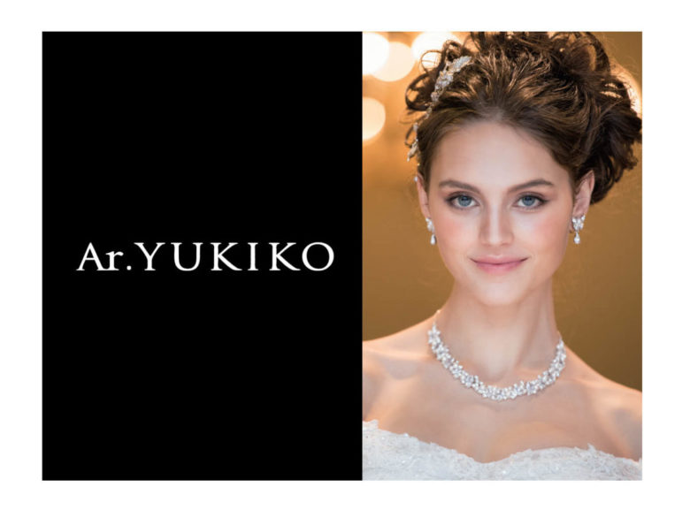NEW 《ウェディングドレス》 No.8802 Ar.YUKIKO
