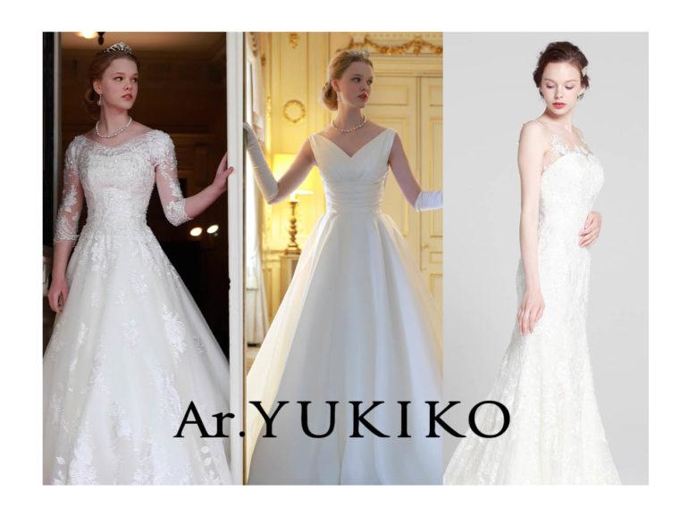 【Ar.YUKIKO(アール・ユキコ)】新作ドレス紹介します♪