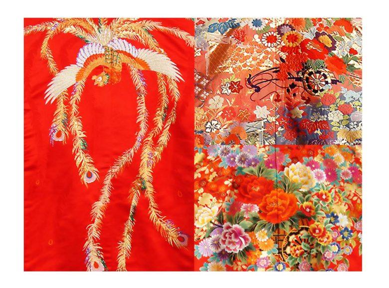 ブライダル 花嫁衣裳【和装】貸衣装コレクションに赤地の色打掛を追加しました♪