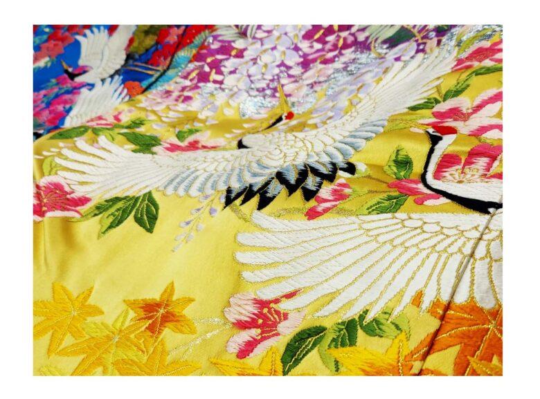 ブライダル 花嫁衣裳【和装】貸衣装コレクション 新緑、ジューンブライドに合う色打掛を追加しました♪