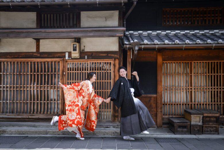 《和装ロケーション撮影》結婚式より楽しいロケ撮影!日本の四季が織り成す紅葉のシーズンへ!